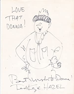 AN ORIGINAL DRAWING of THE CARTOON CHARACTER: Key, Ted (1912-2008).