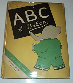 ABC OF BABAR. By Jean de Brunhoff.