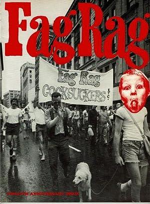 FAG RAG: TWELFTH ANNIVERSARY ISSUE. Issue #30-39.: Markham, Fred; Smith,