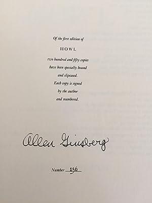 Howl. Original Draft Facsimile, Transcript & Variant: Allen Ginsberg