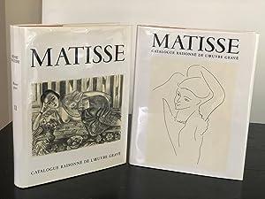 HENRI MATISSE: Catalogue raisonne de l'oeuvre grave: Duthuit-Matisse, Marguerite &