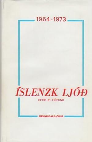Íslensk Ljóð 1964-1973: Finnbogason, Eiríkur, et