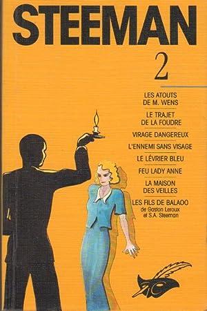 Steeman - 2 : Huit Romans - Les Atouts De M. Wens; Le Trajet De La Foudre; Virage Dangereux; L&#x27...