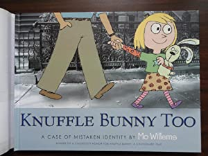 Knuffle Bunny Too: A Case of Mistaken Identity: Willems, Mo