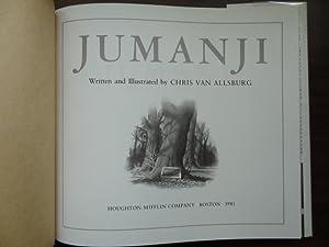 Jumanji *Caldecott Medal 1st: Van Allsburg, Chris