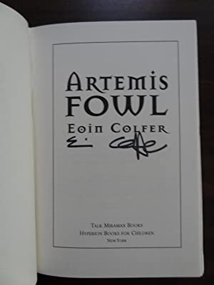 Artemis Fowl *Signed: Colfer, Eoin
