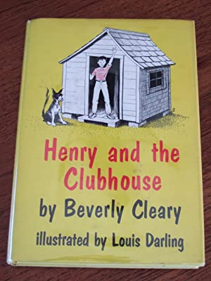 Henry and the Clubhouse **1st with Signed: Cleary, Beverly