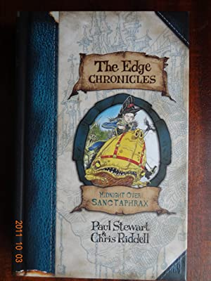 Midnight over Sanctaphrax (Edge Chronicles) *Signed 1st: Stewart, Paul;Riddell, Chris