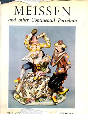 Meissen and Other Continental Porcelain Faience and: Hackenbroch, Yvonne