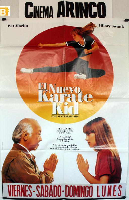 The Next Karate Kid MOVIE POSTER/EL NUEVO KARATE KID/POSTER