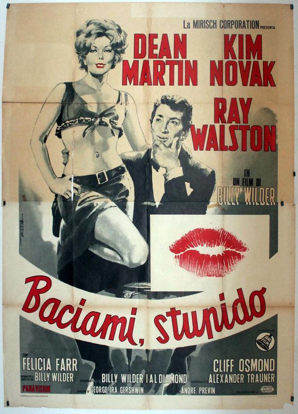Kiss Me, Stupid MOVIE POSTER/BACIAMI, STUPIDO/POSTER