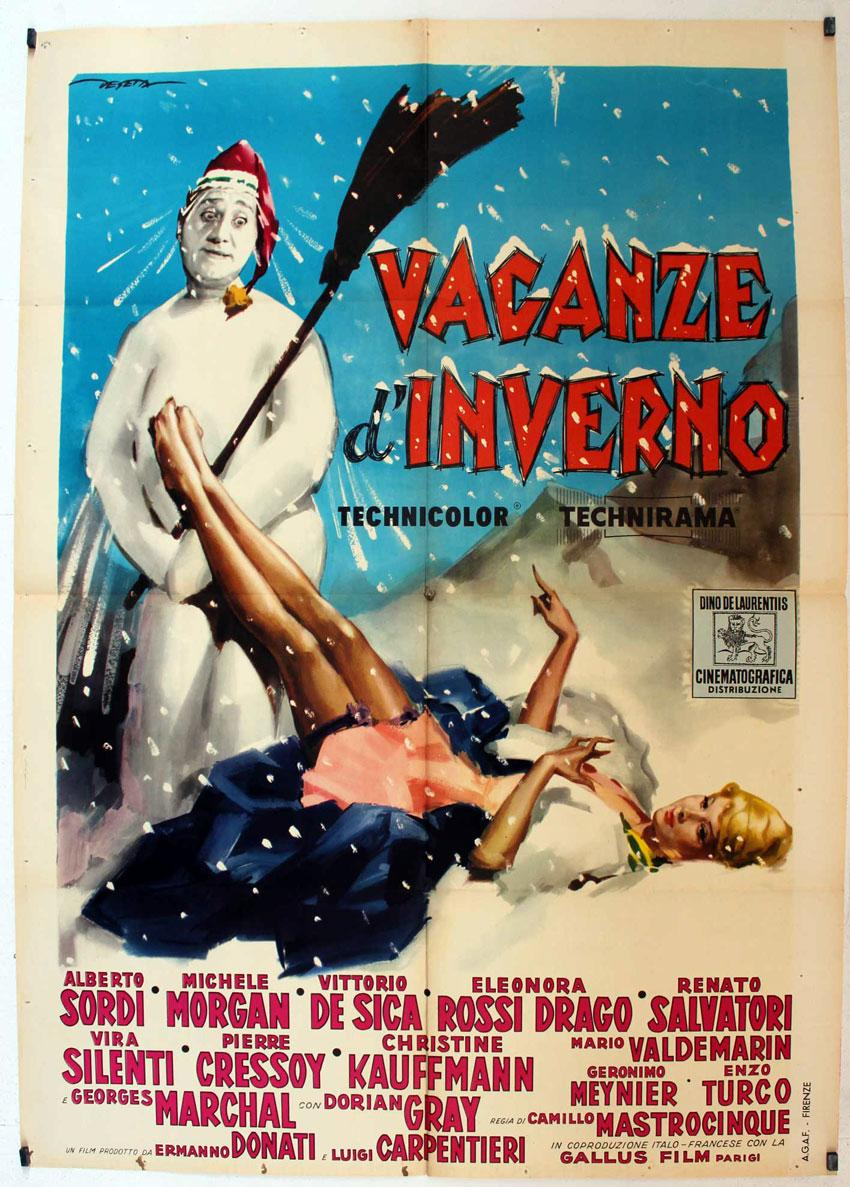 viaLibri ~ VACACIONES EN CORTINA D'AMPEZZO MOVIE POSTER/VACANZE D ...