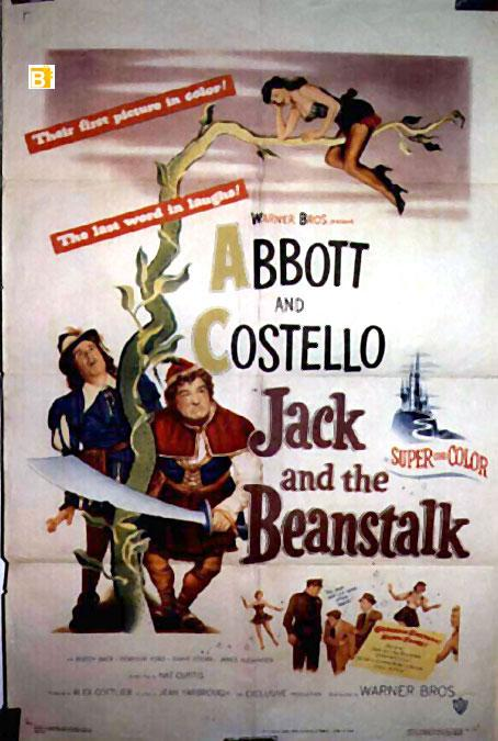 JACK AND THE BEANSTALK MOVIE POSTER/JACK AND THE BEANSTALK/POSTER