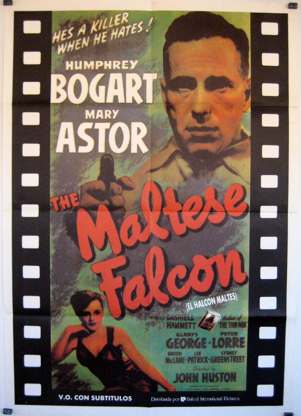 THE MALTESE FALCON RES MOVIE POSTER/MALTESE FALCON, THE/POSTER
