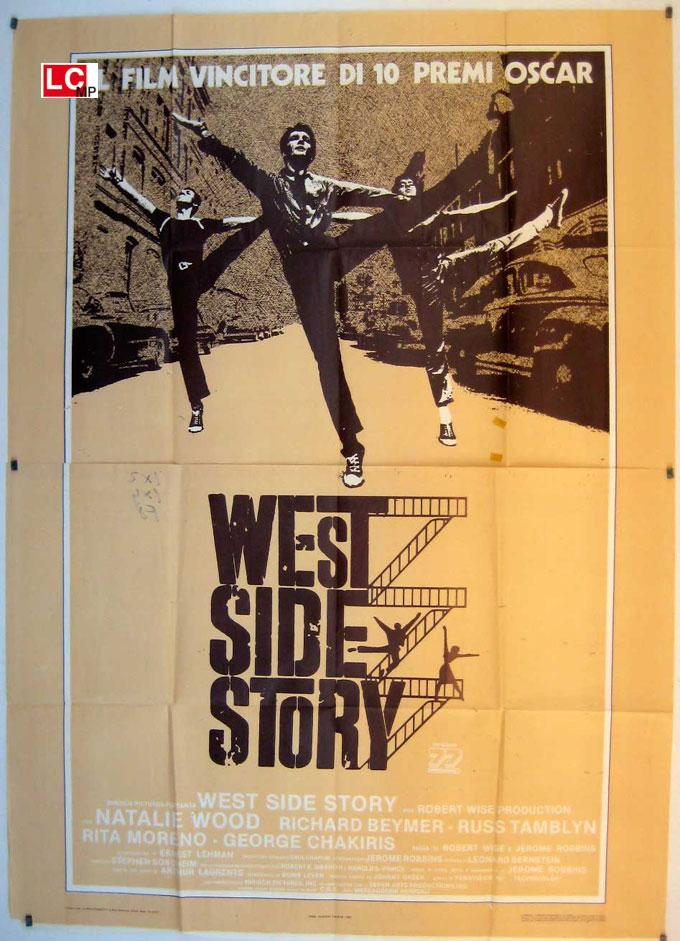 WEST SIDE STORY res MOVIE POSTER/WEST SIDE STORY/POSTER