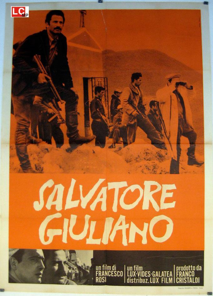 SALVATORE GIULIANO MOVIE POSTER/SALVATORE GIULIANO/POSTER SALVATORE GIULIANO - 1961, Dir: FRANCESCO ROSI, Cast: FRANCO CRISTALDI, , , Nac. film: ITALIA, Company: , Designer: , , Nac. poster: ITALIA, Measures