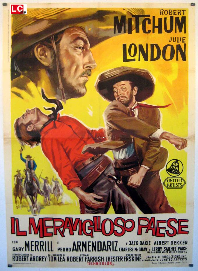 THE WONDERFUL COUNTRY MOVIE POSTER/IL MERAVIGLIOSO PAESE/POSTER