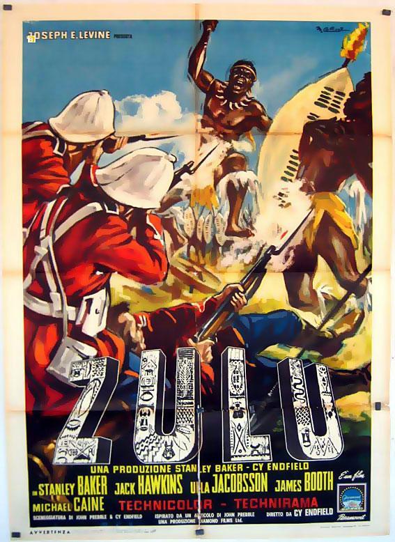 Zulu Movie Posterzuluposter 2 Sh Benito Original Movie Poster