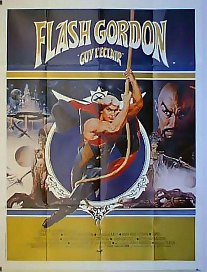 FLASH GORDON MOVIE POSTER/FLASH GORDON GUY L ECLAIR/POSTER