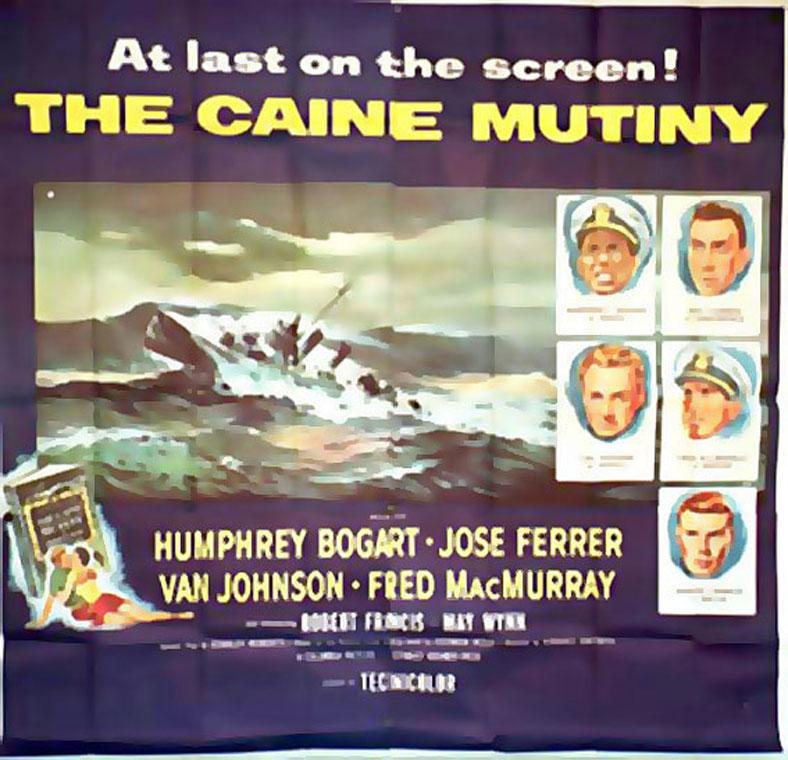 THE CAINE MUTINY MOVIE POSTER/CAINE MUTINY, THE/POSTER