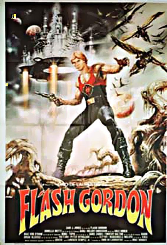 FLASH GORDON MOVIE POSTER/FLASH GORDON/POSTER 2 SH