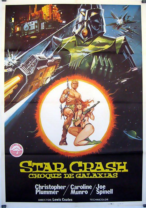 STAR CRASH MOVIE POSTER/STAR CRASH CHOQUE DE GALAXIAS/POSTER