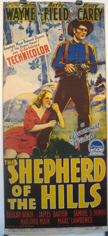 shepherd of the hills the movie posterthe shepherd of