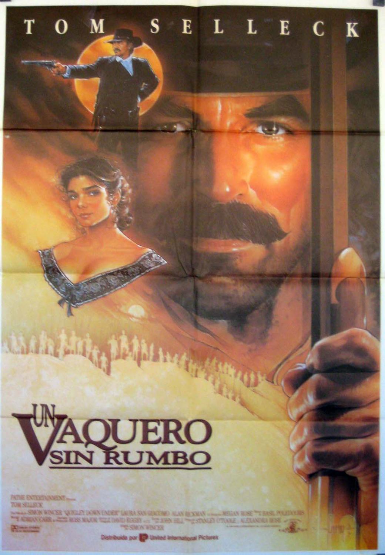Quigley Down Under MOVIE POSTER/UN VAQUERO SIN RUMBO/POSTER