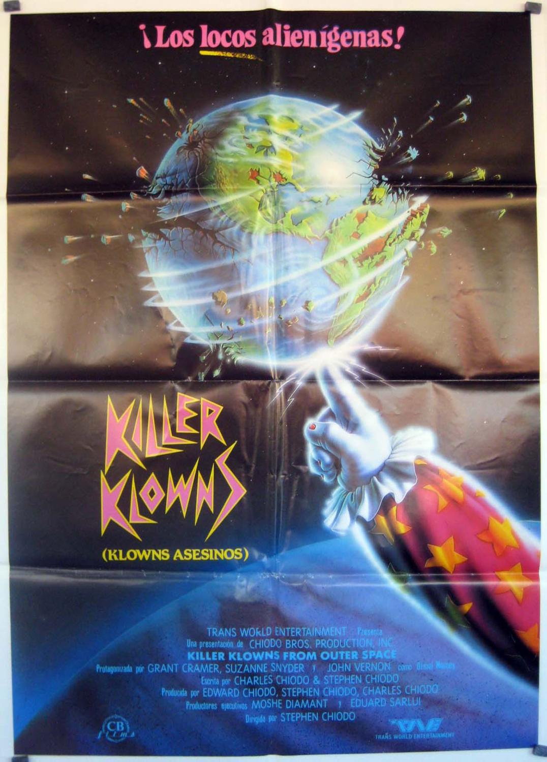 Killer Klowns from Outer Space MOVIE POSTER/KILLER KLOWNS/POSTER