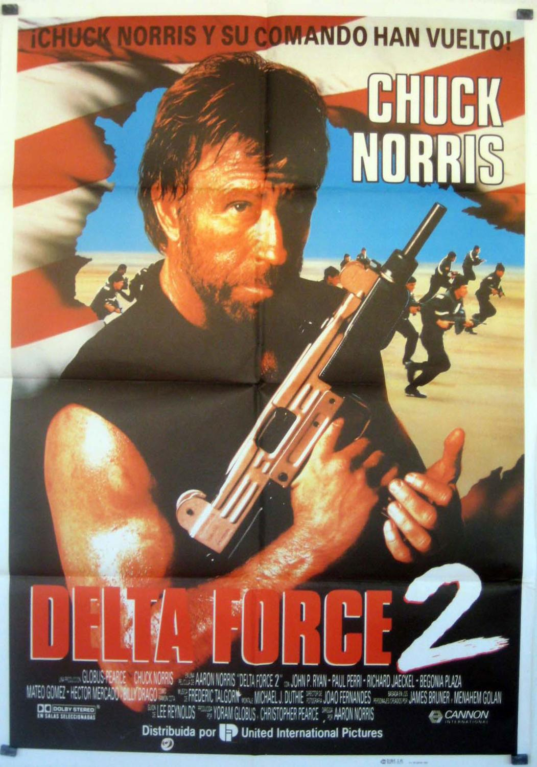 Delta Force 2: The Colombian Connection MOVIE POSTER/DELTA FORCE 2/POSTER