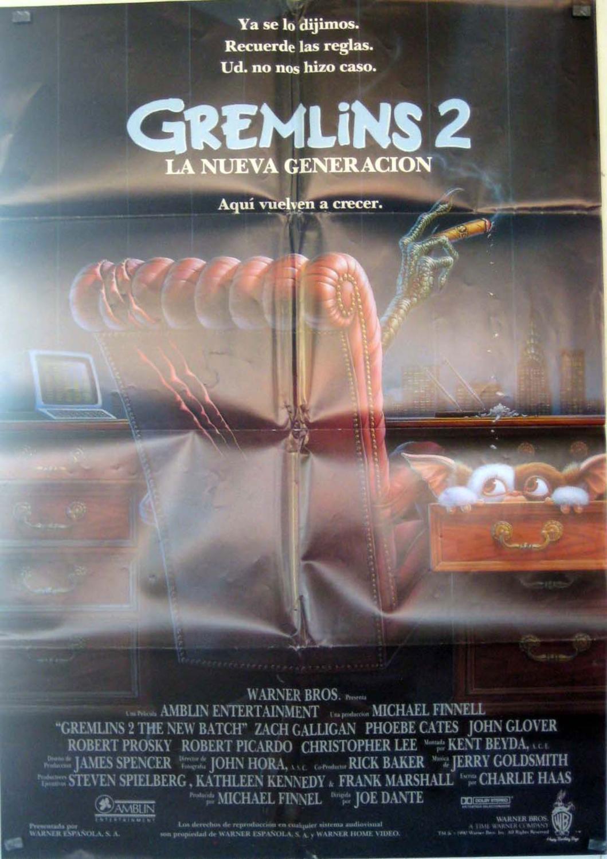 Gremlins 2: The New Batch MOVIE POSTER/GREMLINS 2/POSTER