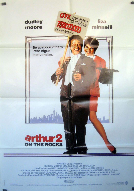 Arthur 2: On the Rocks MOVIE POSTER/ARTHUR 2 ON THE ROCKS/POSTER