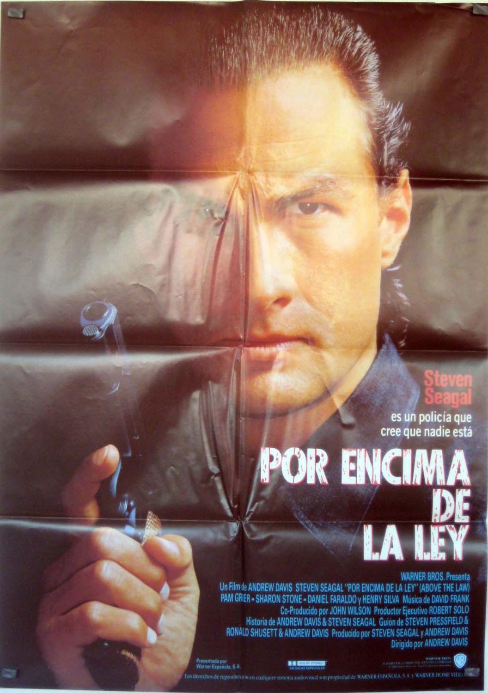 Above the Law MOVIE POSTER/POR ENCIMA DE LA