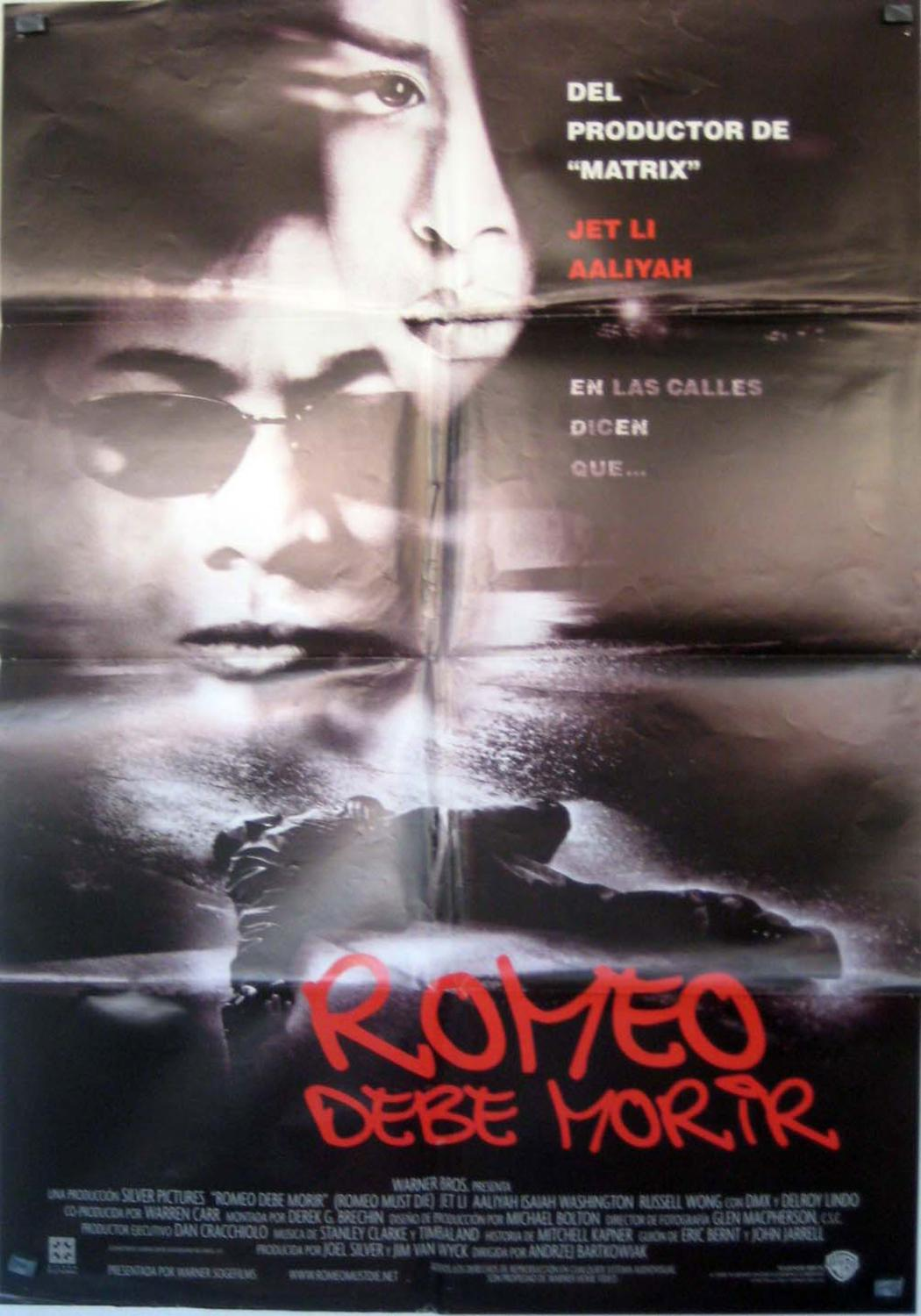 Romeo Must Die MOVIE POSTER/ROMEO DEBE MORIR/POSTER