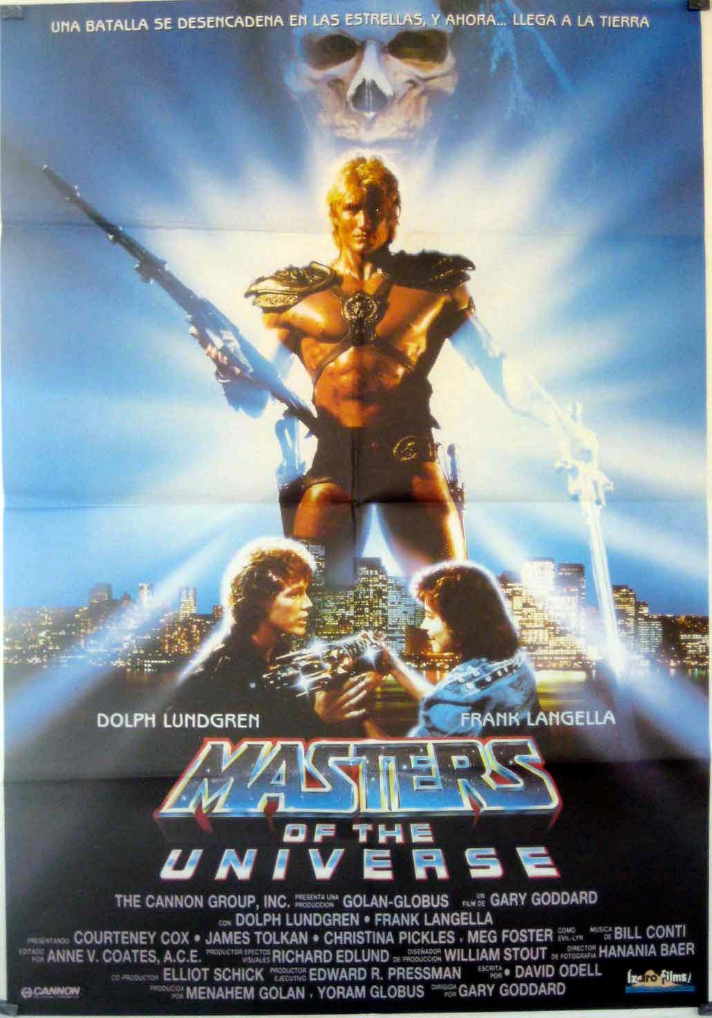 MASTER OF THE UNIVERSE MOVIE POSTER/MASTER OF THE UNIVERSE/POSTER