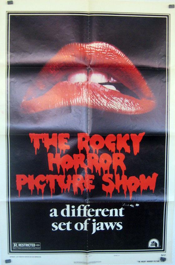 THE ROCKY HORROR PICTURE SHOW MOVIE POSTER/THE ROCKY HORROR PICTURE SHOW/POSTER