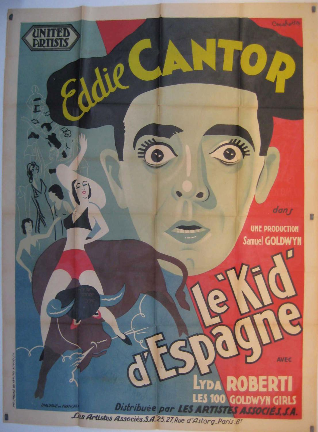 Vialibri The Kid From Spain Movie Poster Le Kid D Espagne Poster