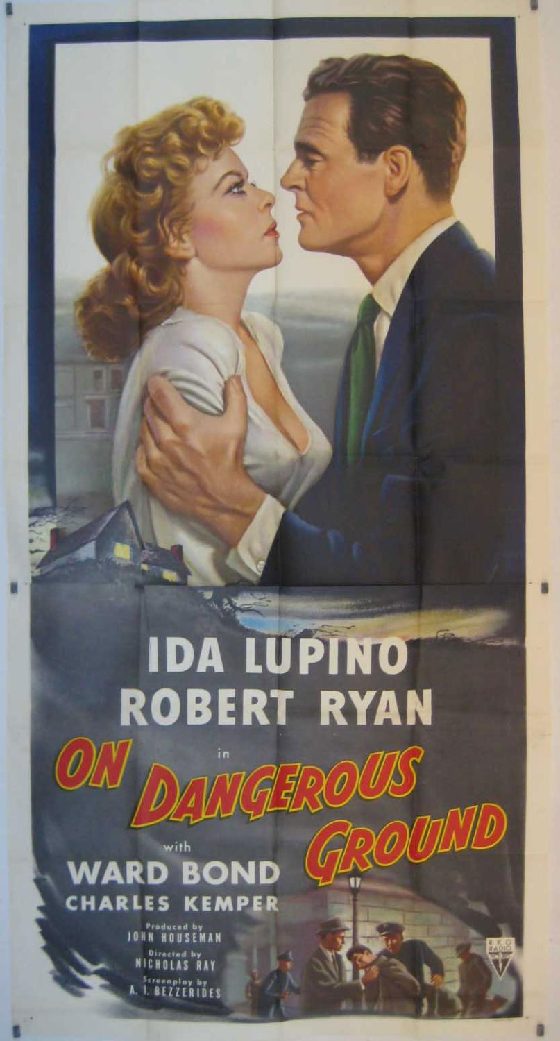 ON DANGEROUS GROUND MOVIE POSTER/ON DANGEROUS GROUND/POSTER