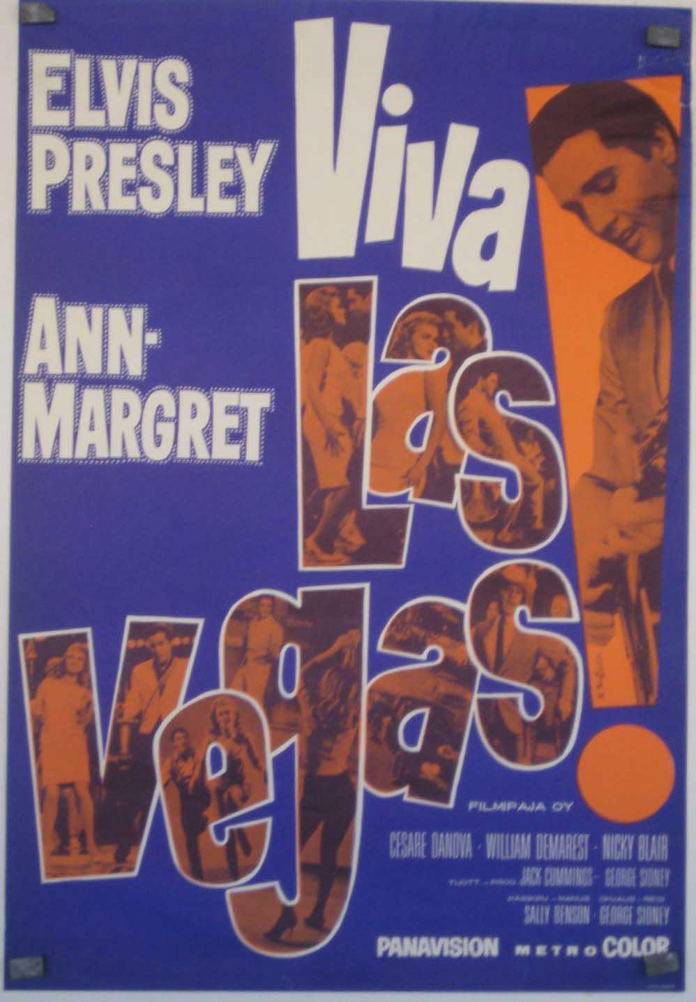 Viva Las Vegas MOVIE POSTER/VIVA LAS VEGAS/POSTER