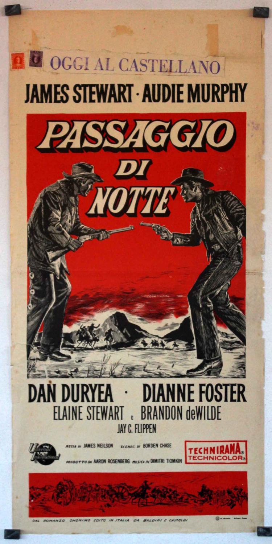 NIGHT PASSAGE MOVIE POSTER/PASSAGGIO DI NOTTE/LOCANDINA