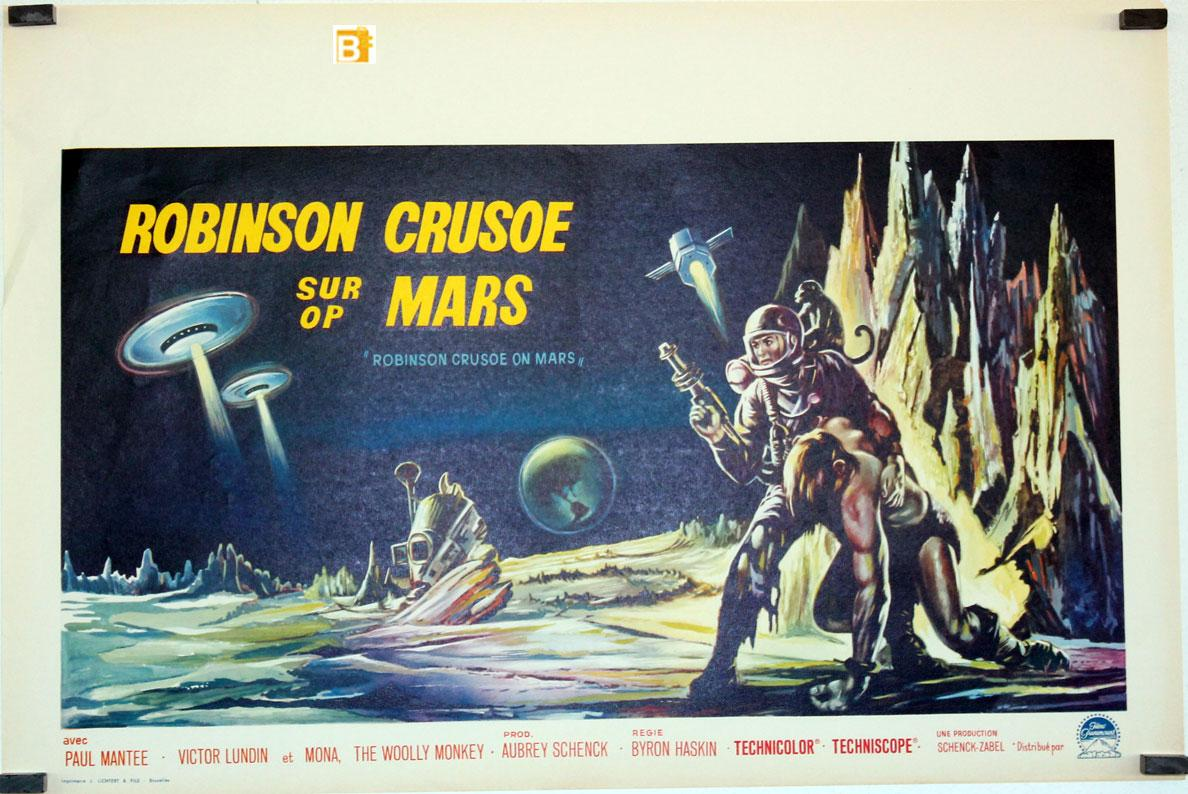 ROBINSON CRUSOE ON MARS MOVIE POSTER/ROBINSON CRUSOE SUR MARS/POSTER