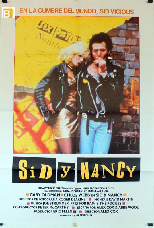 Sid and Nancy MOVIE POSTER/SID Y NANCY/POSTER