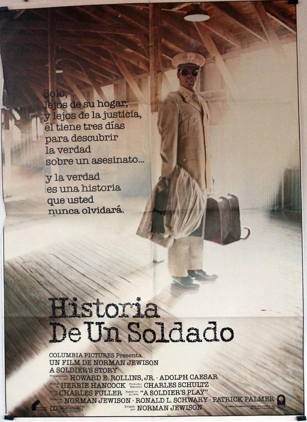 A SOLDIERS STORY MOVIE POSTER/HISTORIA DE UN SOLDADO/POSTER