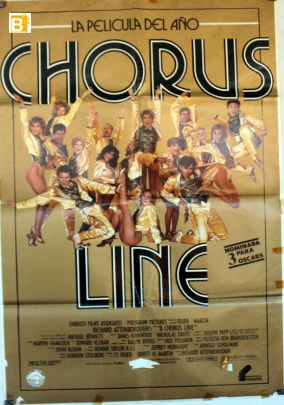 A Chorus Line MOVIE POSTER/CHORUS LINE/POSTER