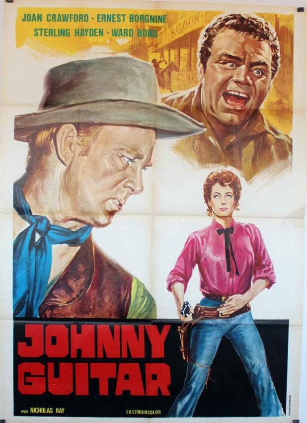 JOHNNY GUITAR RES MOVIE POSTER/JOHNNY GUITAR/POSTER