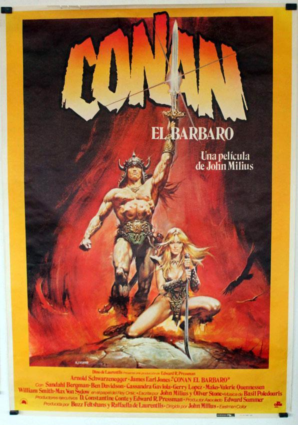 CONAN, THE BARBARIAN MOVIE POSTER/CONAN THE BARBARIAN/POSTER