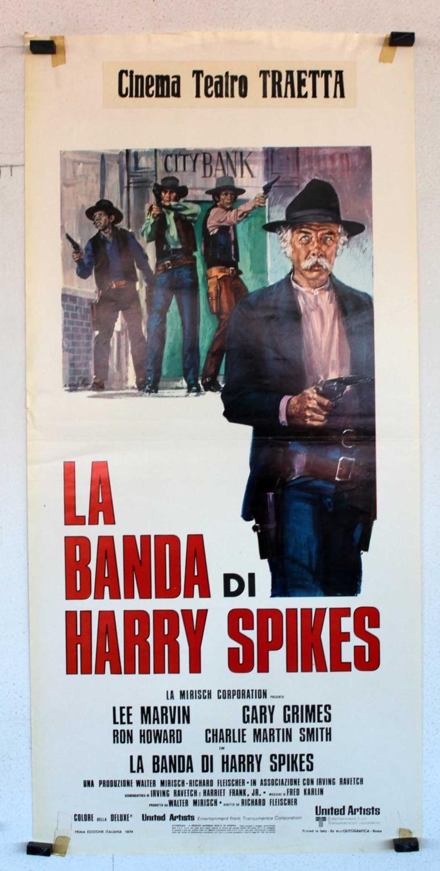 THE SPIKES GANG MOVIE POSTER/LA BANDA DI HARRY SPIKES/LOCANDINA