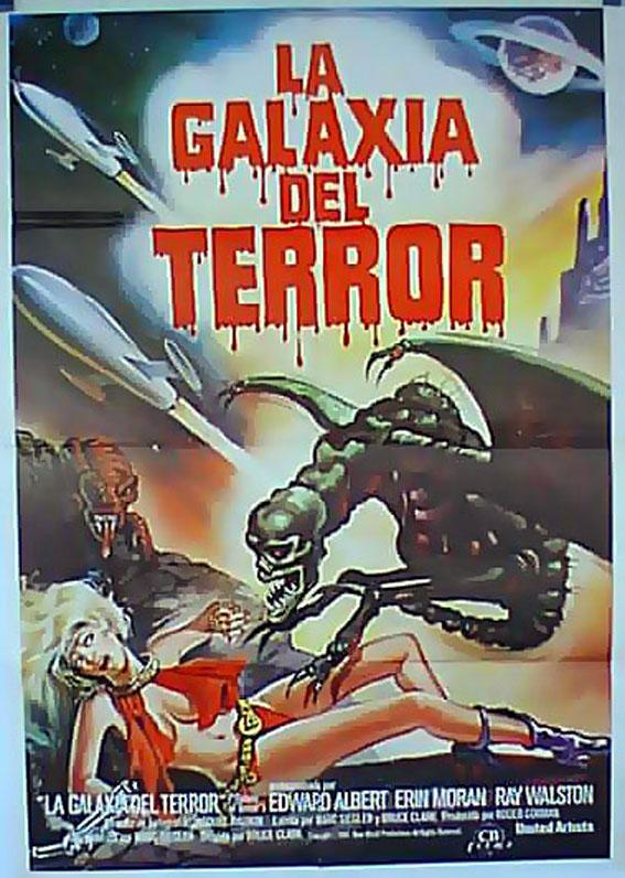 GALAXY OF TERROR MOVIE POSTER/GALAXIA DEL TERROR, LA/POSTER