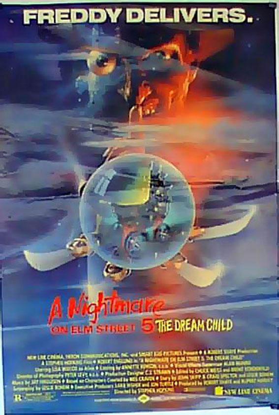 A NIGHTMARE ON ELM STREET: THE DREAM CHILD MOVIE POSTER/A NIGHTMARE ON ELM STREET/POSTER