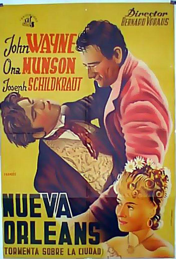LADY FROM LOUISIANA MOVIE POSTER/NUEVA ORLEANS/POSTER